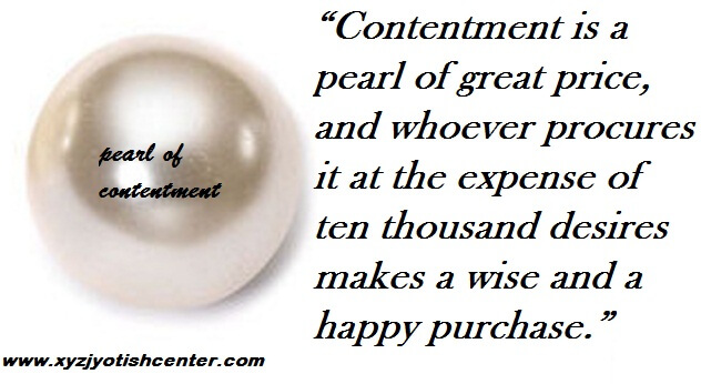 life of contentment