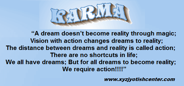 karma in astrology article quote