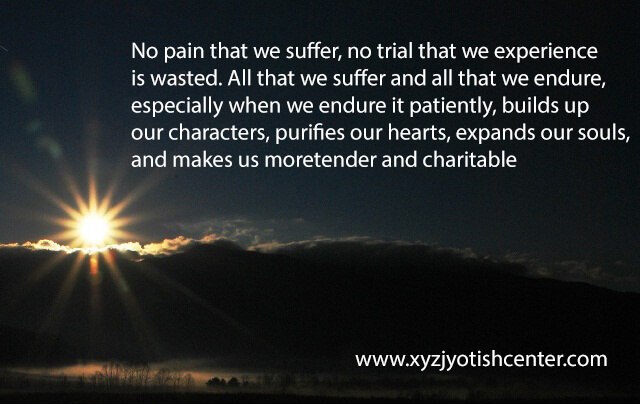 Suffering and Sorrow Quote