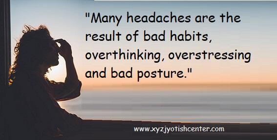 Get Rid of Headaches easily